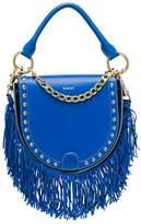 Sacai Horseshoe leather shoulder bag