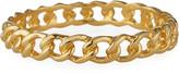 Kenneth Jay Lane Polished Gold Link Bangle
