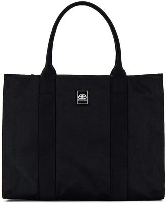Balenciaga Trade E-W Zip Tote Bag in Black   FWRD