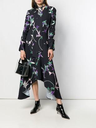 La DoubleJ Printed Ruched Dress
