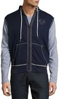 True Religion Cotton-Blend Sleeveless Jacket