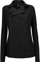 Haider Ackermann Asymmetric wool-blend blazer