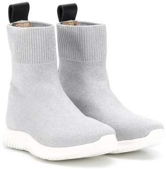 Roberto Cavalli Junior TEEN sock-style boots