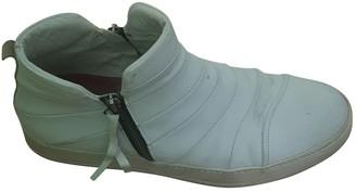 Bruno Bordese White Leather Boots