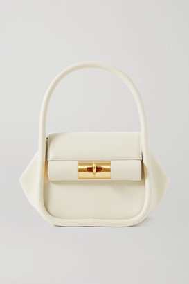 Gu_de Love Leather Tote - Ivory