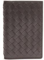 Bottega Veneta Intrecciato bi-fold leather cardholder