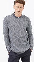 Esprit OUTLET melange sweater made of pure cotton