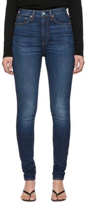 Rag & Bone Blue Denim Jane Jeans