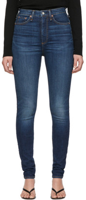 Rag & Bone Blue Denim Jane Jeans