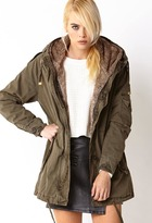 Forever 21 Faux Fur-Lined Parka