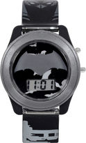 DC COMICS DC Comics Batman vs. Superman LCD Flash Dial with Printed Gray Batman Watch