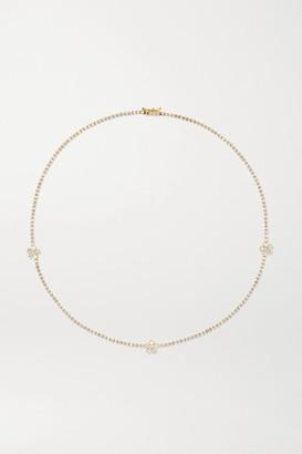 Jennifer Meyer 18-karat Gold Diamond Necklace - one size
