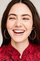 Urban Outfitters Diamond Cut Hoop Earring