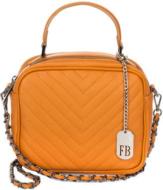 Italian Leather Federica Bassi Leather Crossbody