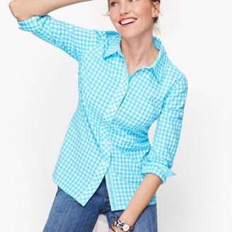 Talbots Classic Cotton Shirt - Gingham