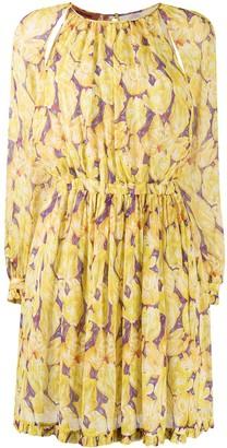 Missoni Floral Print Silk Dress