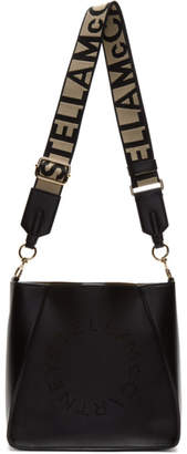 Stella McCartney Black Mini Logo Crossbody Bag