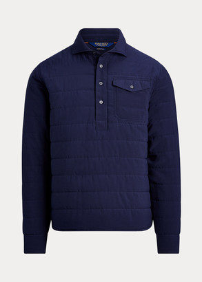 Ralph Lauren Quilted Stretch Pullover