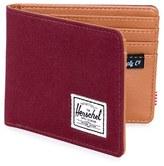 Herschel Men's 'Hank' Bifold Wallet - Red