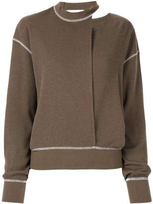 G.V.G.V. waffle knit jumper