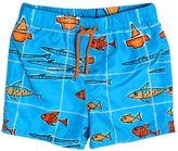 Dolce & Gabbana Fish Printed Nylon Swimming Shorts