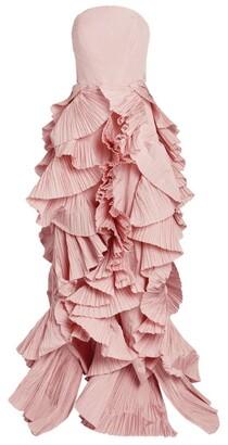 Maria Lucia Hohan Ruffled Anisia Gown