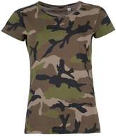 SOLS Womens/Ladies Camo Short Sleeve T-Shirt (US 10-12)