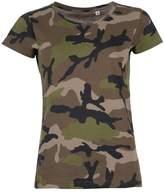 SOLS Womens/Ladies Camo Short Sleeve T-Shirt