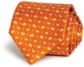 Salvatore Ferragamo Puppy Butterfly Neat Classic Tie