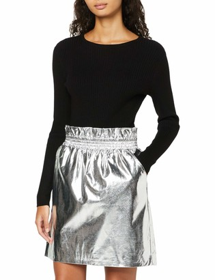 Find. Amazon Brand Women's Skirt in Metallic Fabric and A-line Style