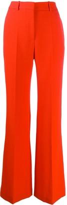 Victoria Beckham High Waisted Wide Leg Trousers