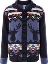Monsoon Max Intarsia Cardigan