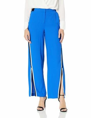Nicole Miller Women's Slit Wide Leg Pant
