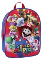 Nintendo Toddler Boys' Super Mario Backpack - Red