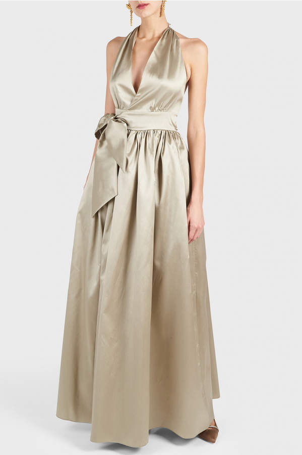 Alexis Mabille Halter Neck Gown