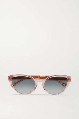 Chloé Willow Cat-eye Acetate Sunglasses