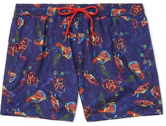 Paul Smith Mid-Length Printed Shell Swim Shorts