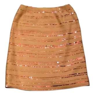 Chanel Beige Wool Skirts