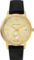 Larsson & Jennings Saxon gold-plated stainless steel watch