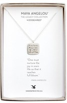 Dogeared Women's 'Legacy Collection - One Must Nurture The Joy' Pendant Necklace