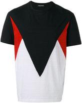 Neil Barrett color block T-shirt - men - Cotton - M