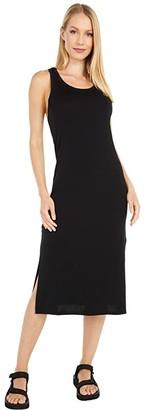 Icebreaker Yanni Merino Tank Midi Dress (Black) Women's Dress