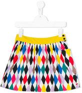 Rykiel Enfant Harlequinn print skirt