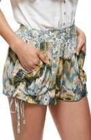 Free People Women's Lisbon Mixed Print Shorts