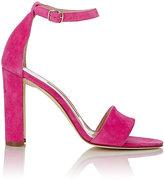 Manolo Blahnik Women's Lauratopri Ankle-Strap Sandals-PINK