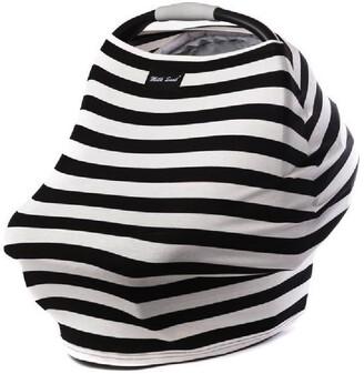 Milk Snob Multi Use Baby Car Seat Cover Black & White Signature Stripes