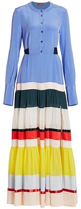 Altuzarra Lobelia Stripe Maxi Dress