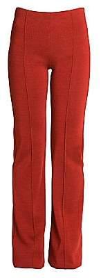 Valentino Women's Straight-Leg Knit Trousers