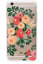 Rifle Paper Co. Clear Peach Blossom Case