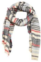 MANGO Striped scarf